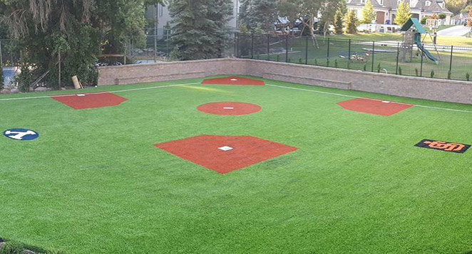 backyard baseball field